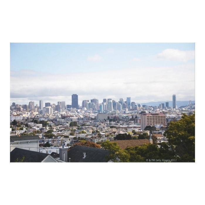 Customizable #Architecture #Building#Exterior #California #City #City#Life #Cityscape #Cloud #Color#Image #Crowded #Day #High#Angle#View #Horizontal #Majestic #Nature #No#People #Outdoors #Photography #San#Francisco#California #Scenics #Sky #Skyline #Travel#Destinations #Tree #Usa View of San Francisco skyline Canvas Print available WorldWide on http://bit.ly/2g8Uacw