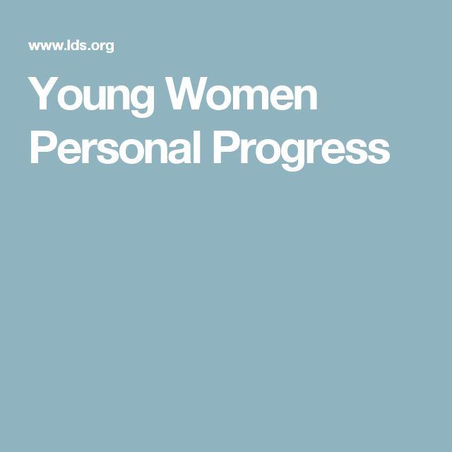 Young Women Personal Progress
