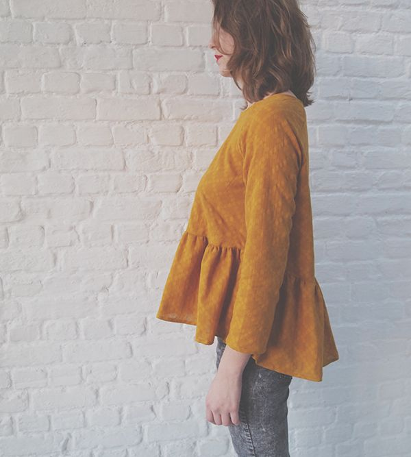 Republique Du Chiffon // Marthe Blouse // LOVE!