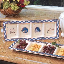 NCAA--Boise State Broncos Gameday Ceramic Relish Tray
