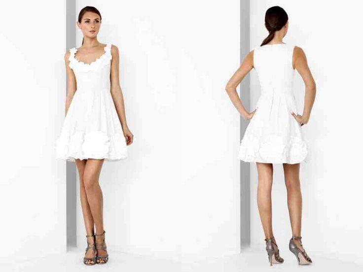 42 best wedding reception dresses images on Pinterest   Dresses ...