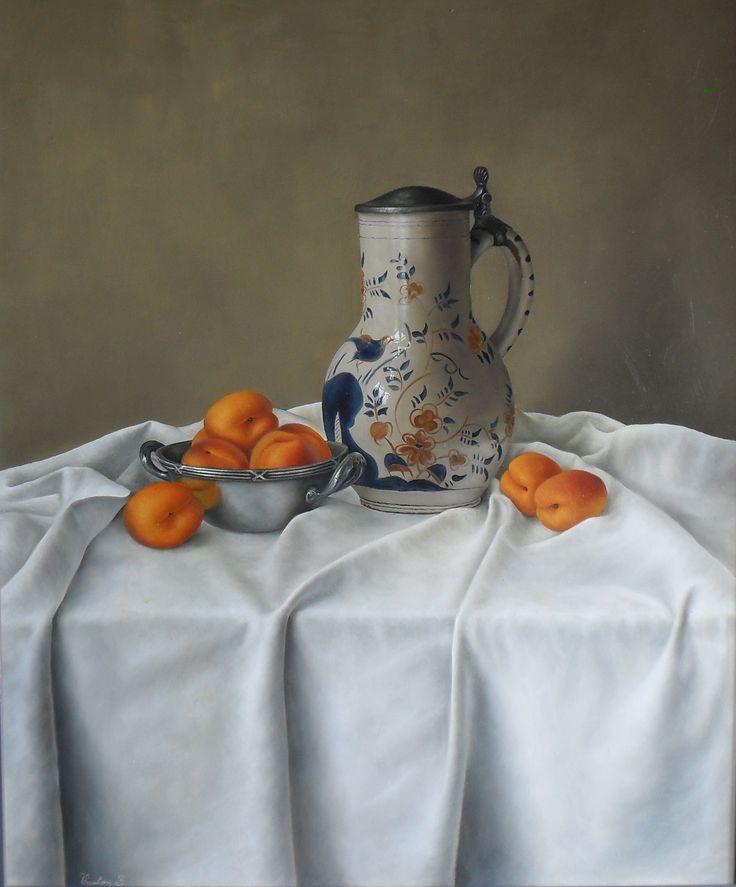 Still life painting - Barbara Vanhove