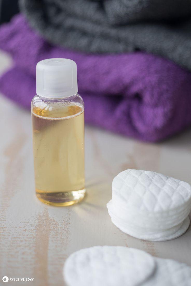 DIY Gesichtswasser selbermachen - mit Teebaumöl - hilft bei unreiner Haut - DIY Kosmetik Anleitung auf Kreativfieber.de