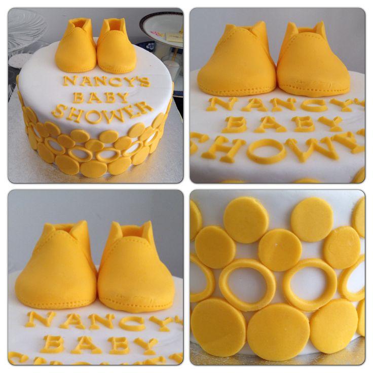 Unisex Baby Shower Ideas Part - 20: Babyshower Unisex Gender Cake. By MTO