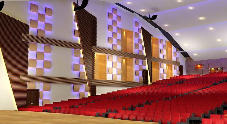 Auditorium design for an Engineering College