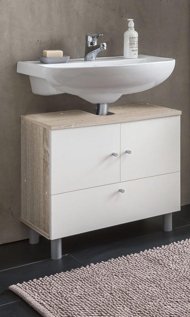 Waschbeckenunterschrank Mit 2 Waschbecken