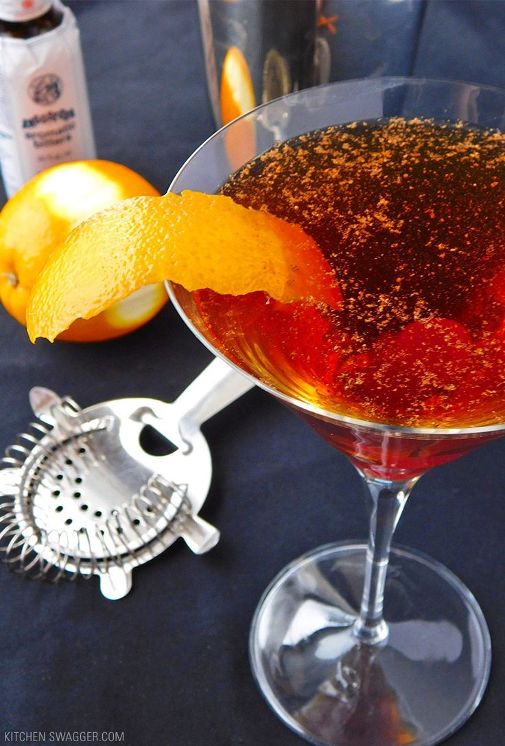 Manhattan Recipe on Pinterest | Manhattan Drink, Manhattan Cocktail ...