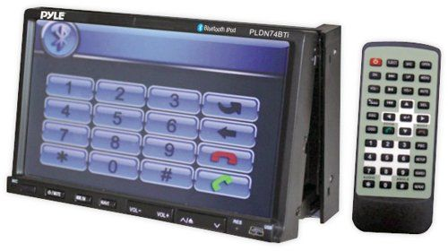 Pyle PLDN74BTI Double DIN TFT Touchscreen, 7-Inch (Discontinued by Manufacturer)  http://www.productsforautomotive.com/pyle-pldn74bti-double-din-tft-touchscreen-7-inch-discontinued-by-manufacturer/
