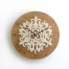 I have a crush on this clock ...