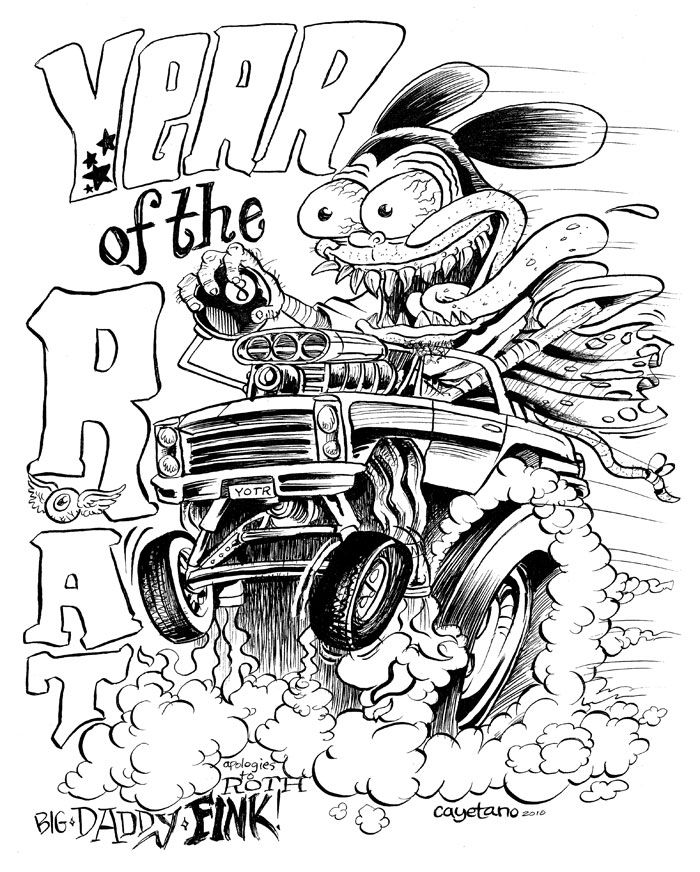 1180 best rat fink  u0026 friends images on pinterest