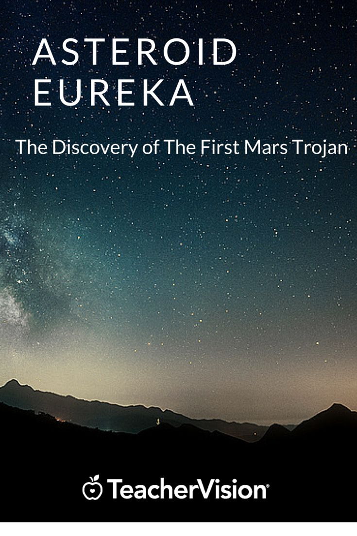 On this day, scientists discovered Asteroid Eureka, the first Mars trojan. Let us celebrate the discovery and inspire future generations of  astronomers with free DK mini-lessons on astronomy