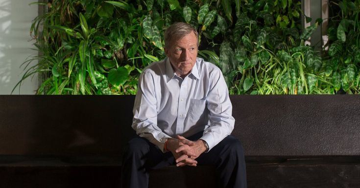 Tom Steyer, a major Democratic donor, has become one of President Trump's most visible antagonists, firing up angry Democrats and unnerving his own party with the ferocity of his efforts.