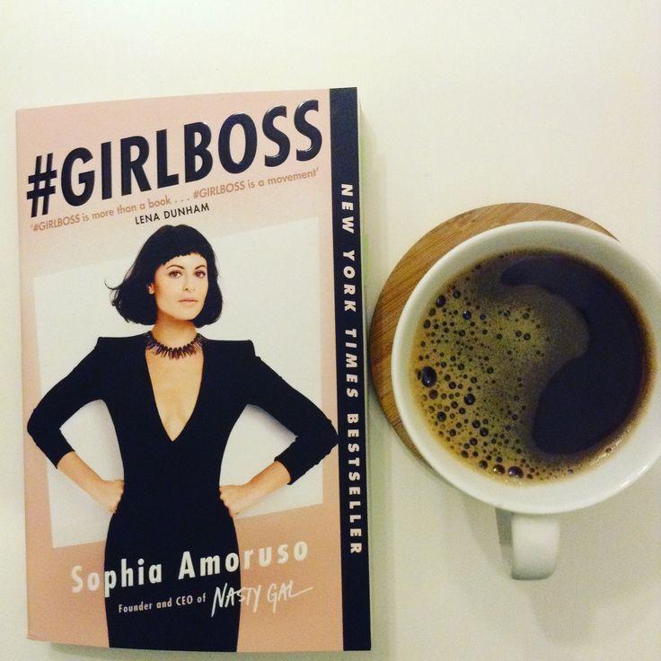 #girlboss #review Book and coffee  Sophia Amoruso