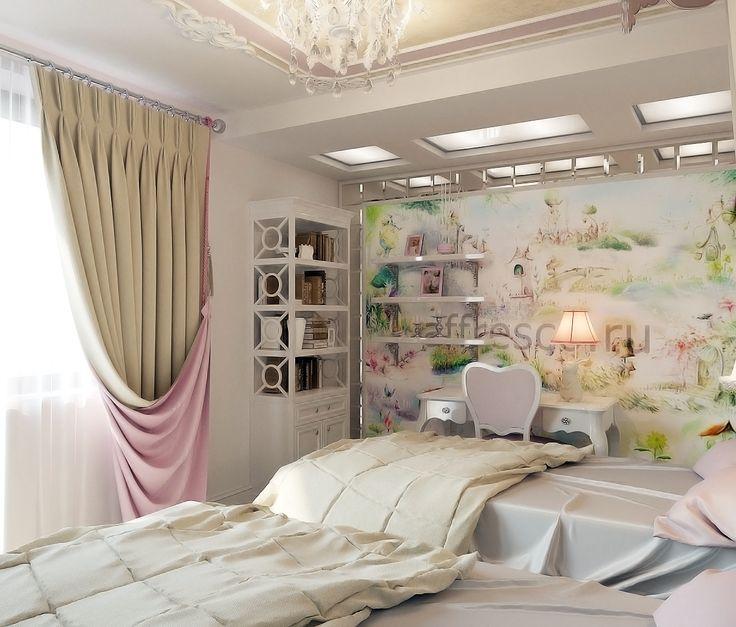 Дизайн спальни для девочек Автор проекта: Елена Агафонова #спальнаякомната #спальня #спальнядлядевочек #спальнядляпринцесс #дизайнспальнойкомнаты #дизайнспальной #дизайнспальнидлядевочек #design #designinterior