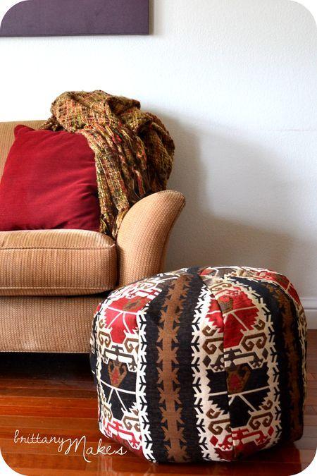 Best 25+ Diy pouf ideas on Pinterest Bean bag cushion, Bean bag quilt and Bean bag stool