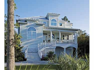 A Touch Of Key West (HWBDO12453) | Cottage House Plan From  BuilderHousePlans.com