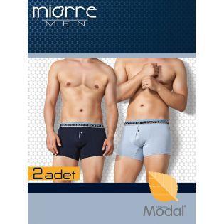 Miorre Tomy 2'Li Paket Modal Erkek Boxer 001-024018 indirimli fiyat seçeneği ile Arastamarket.com da.