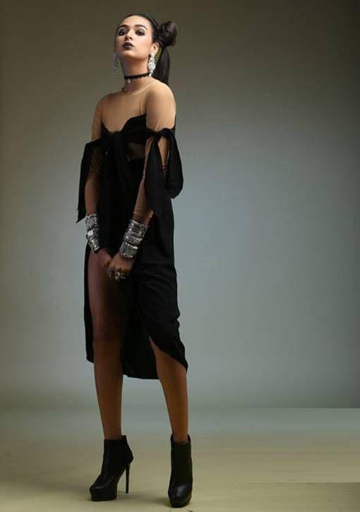 BOW DRESS - Ruben Galarreta