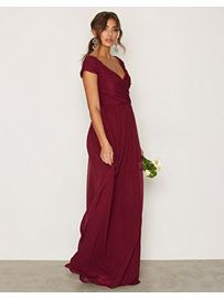 Shoppa Cup Sleeve Maxi Dress - Online Hos Nelly.com