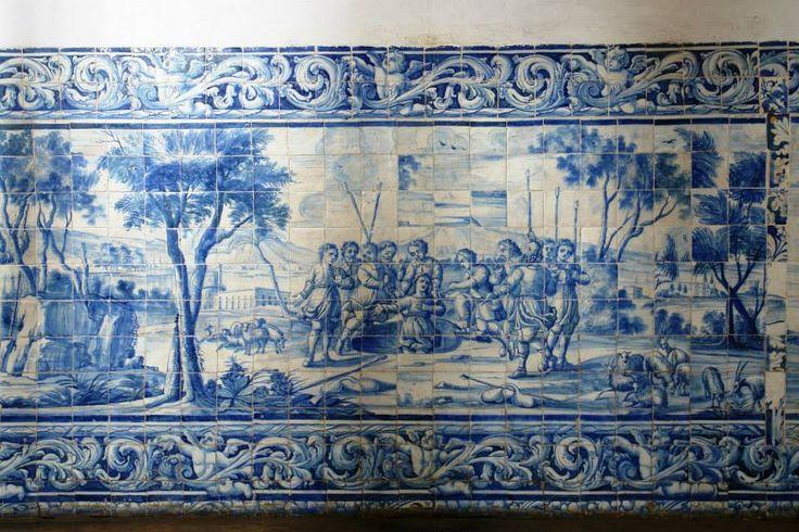 João Pessoa | Convento de / Convent of Santo António #Azulejo #AzulEBranco #BlueAndWhite #Barroco #Baroque #Brasil #Brazil