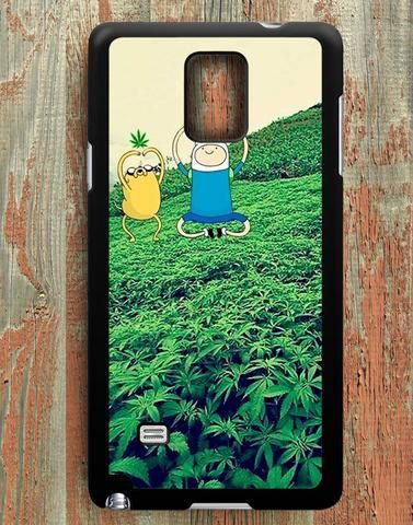 Stoner Adventure Time Samsung Galaxy Note 4 Case