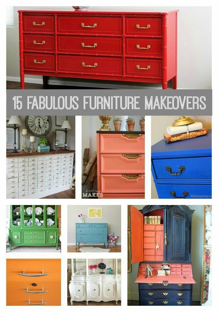 My Top 15 Furniture Makeovers