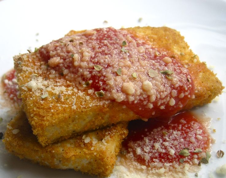 Nourishing Mondays: Tofu Parmesan | Foodem's Nourishing Mondays | Pin ...
