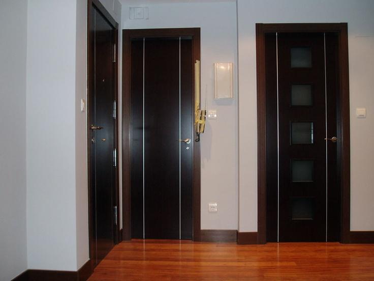M s de 25 ideas incre bles sobre puertas negras en pinterest for Puertas para habitaciones