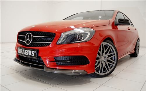 German tuning company Brabus known for its Mercedes Benz tuning plans to unveil its modification for the 2013 Mercedes A Class at the 2012 Essen Motor Show in December...