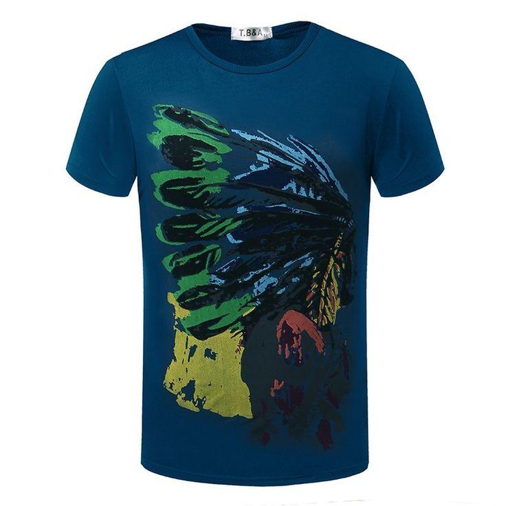 Pánské triko s potiskem Indián modré + POŠTOVNÉ ZDARMA Na tento produkt se vztahuje nejen zajímavá sleva, ale také poštovné zdarma! Využij této výhodné nabídky a ušetři na poštovném, stejně jako to udělalo již velké …