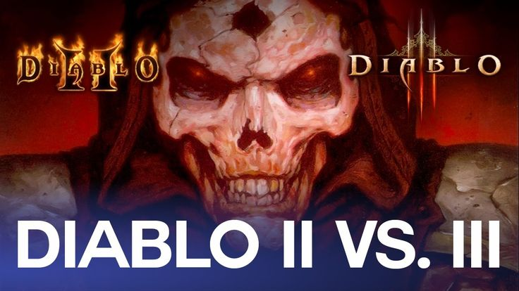 Diablo II vs. Diablo III - A comparison of what each game did better and what we learned from them (x post r/games) #Diablo #blizzard #Diablo3 #D3 #Dios #reaperofsouls #game #players