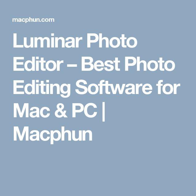Luminar Photo Editor – Best Photo Editing Software for Mac & PC | Macphun