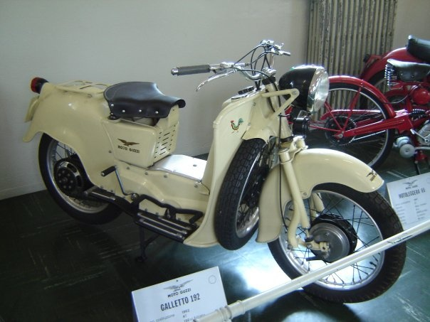 """Galletto 192"": Galletto 192, Guzzi Museums, Moto Guzzi"