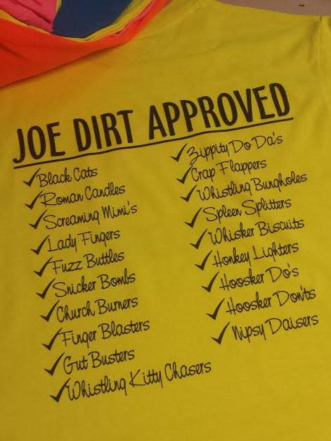 Joe Dirt Approved - 4th of July Tees by GraphicsUnlimitedLLC on Etsy