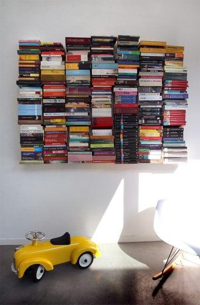 Meer dan 1000 idee n over gestapelde boeken op pinterest for Boeken opbergsysteem