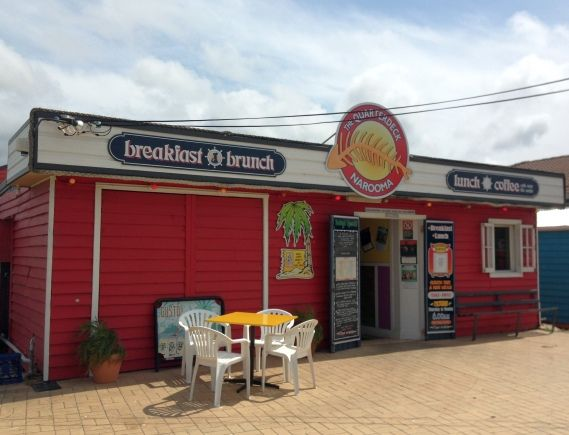 Quarterdeck restaurant at Narooma