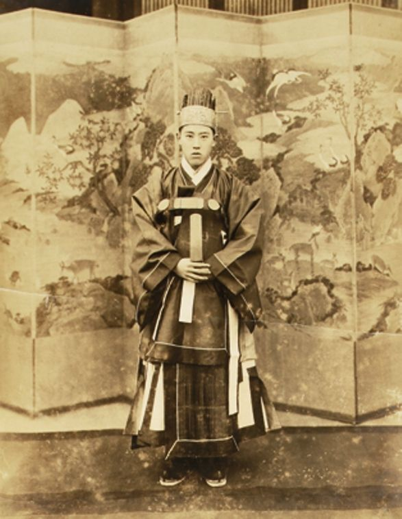 Prince Yi Woo in full dress, 1930s. The Museum of Photography, Seoul