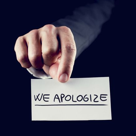 Use these sample business apology letters as templates for your formal notification.