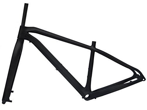 Full Carbon Matt 29er Mountain Bike MTB Cycling BB92 Frame And Fork 15' -- You can get more details by clicking on the image.