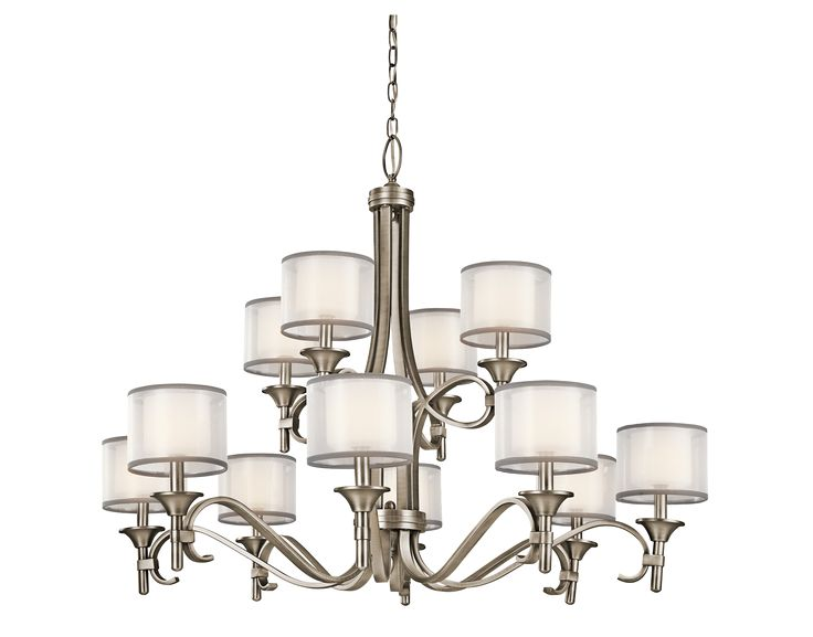 Kitchler lacey collection 2 story foyer chandelier in for 2 story foyer chandelier