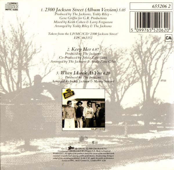 2300 Jackson Street - The Jacksons (Album: 2300 Jackson Street / 1989)
