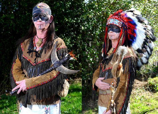 Одежда индейцев Мужская и женская индейская одежда