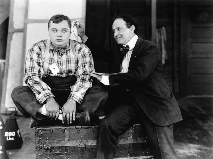 Roscoe 'Fatty' Arbuckle and Harry Houdini (1919)