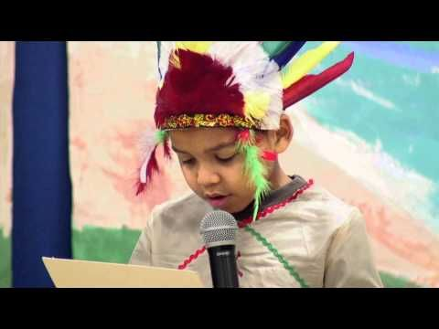 Kew-Forest School 2012 3rd Grade Thanksgiving Show