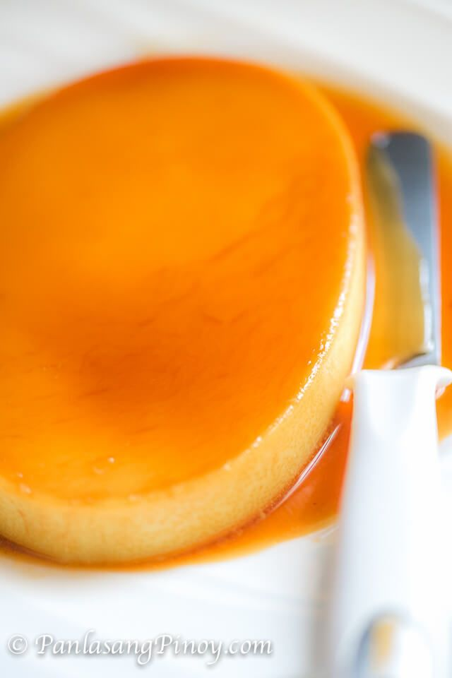 Yummy Leche Flan with Caramel