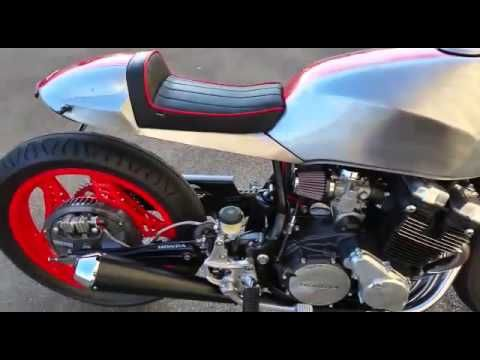 Honda CBX 550 Café Racer Umbau - YouTube