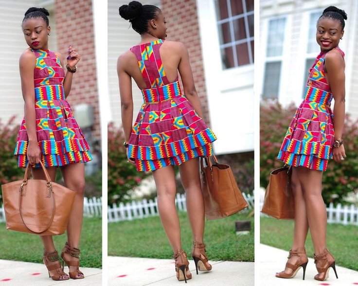 Ghana Kente Cloth...super cute and colorful!