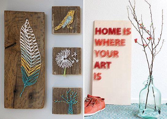7 besten fadenbilder bilder auf pinterest nieten. Black Bedroom Furniture Sets. Home Design Ideas