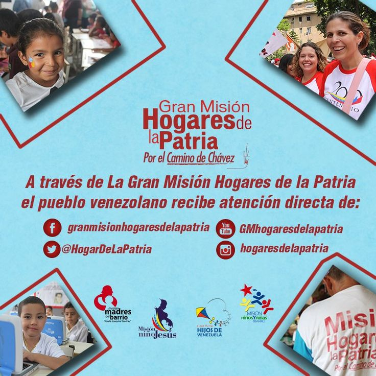 @HogarDeLaPatria : La GM #HogaresDeLaPatria nació con el firme propósito de continuar disminuyendo los niveles de pobreza y erradicar la pobreza extrema