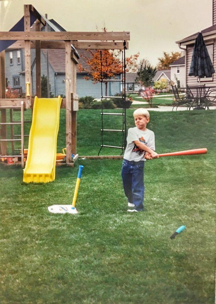 Little Justin James playing in Pewaukee. JJ Watt Foundation Twitter - 7.28.16